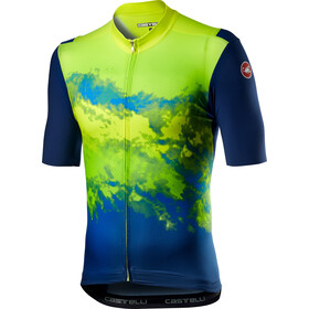 Castelli Polvere Jersey Men, yellow fluo